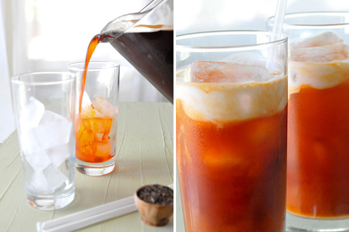 Thai Iced Tea | Cha Yen | ชาเย็น - Rachel Cooks Thai