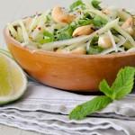 Green Mango and Papaya Salad | ยำมะม่วงมะละกอ