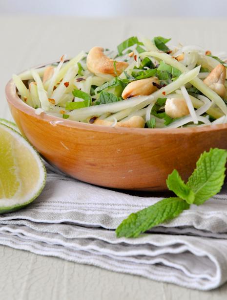 Mango And Papaya Salad Recipe — Dishmaps