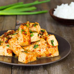 Tofu with Roasted Chili Paste