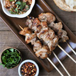Thai Grilled Pork Skewers | Moo Ping | หมูปิ้ง