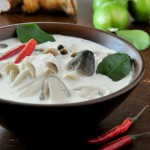 Coconut Milk Soup with Chicken | Tom Kha Gai | ต้มข่าไก่