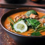 Thai Red Curry with Pork Belly and Water Spinach | Gang Tay Po | แกงเทโพ thumbnail