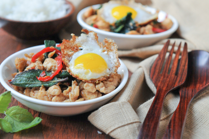 Thai Test Kitchen: Which holy basil is best in pad gaprow?