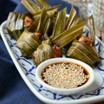 Pandan Chicken Bites | Gai Bai Tuey | ไก่ใบเตย thumbnail