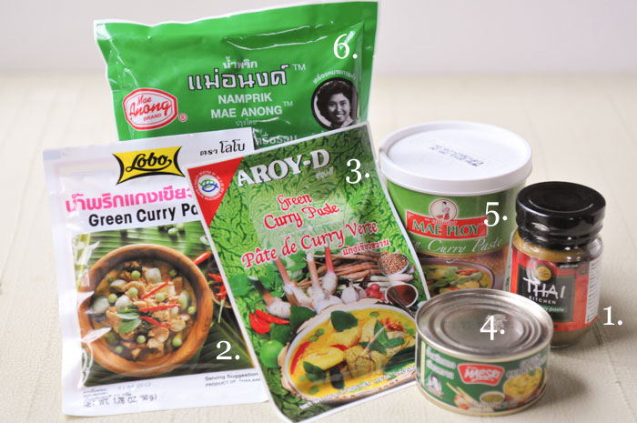 Thai Test Kitchen Which Brand Of Curry Paste Is Best