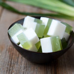 Coconut and Pandan Agar