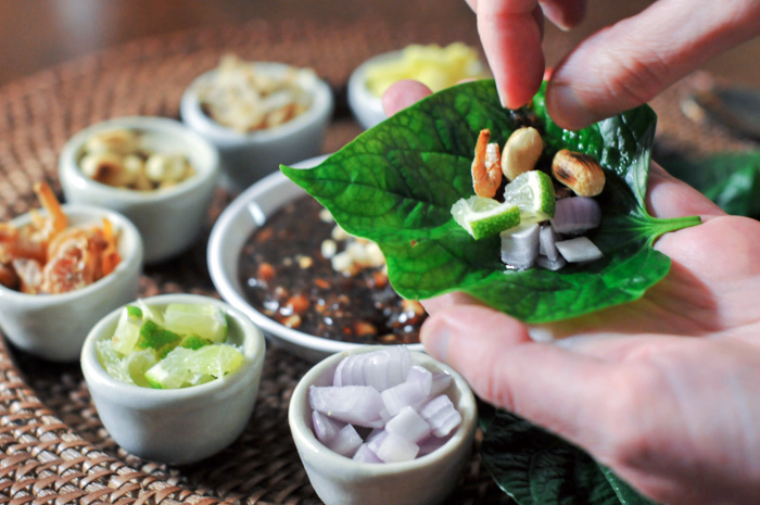 One Bite Appetizer | Miang Kham | เมี่ยงคำ