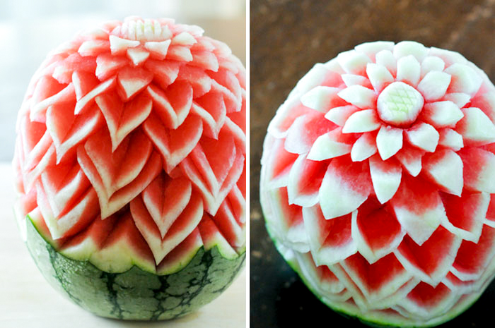 Thai Fruit Carving Class with Petcharee Tamawong-Benjamin
