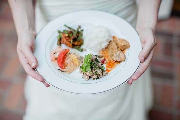 Thai Wedding Menu
