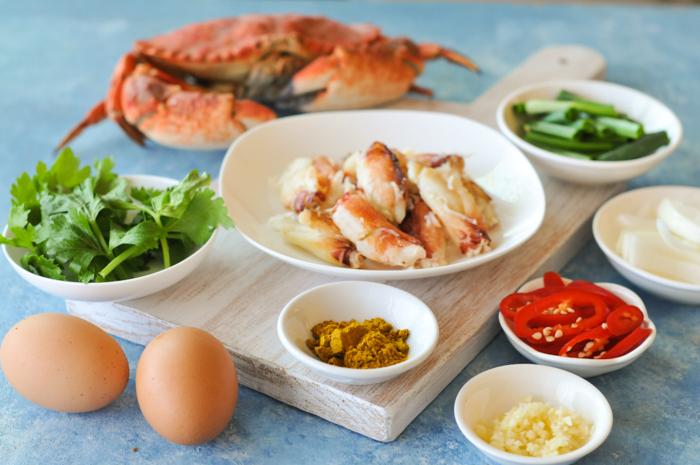 Crab Curry Stir Fry | Bu Pad Pong Karee | ปูผัดผงกะหรี่