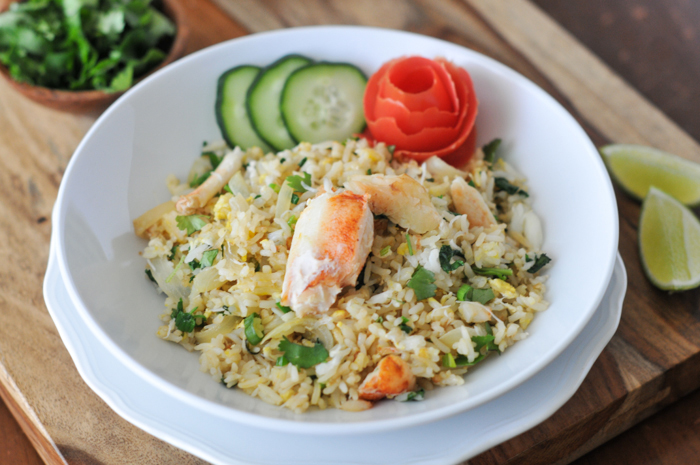 Thai Crab Fried Rice | Khao Pad Bu | ข้าวผัดปู