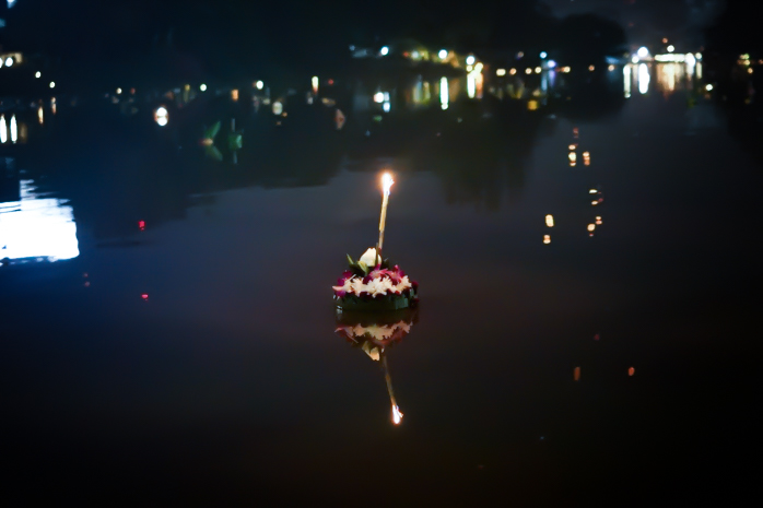 Loy Krathong and Yi Peng in Chiang Mai, Thailand