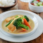 Yellow Curry with Tofu and Vegetables